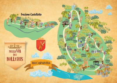 parco tematico A tema medievale, cavalieri, roccasparvera, Cuneo , parco a tema nel bosco in legno, parco didattico