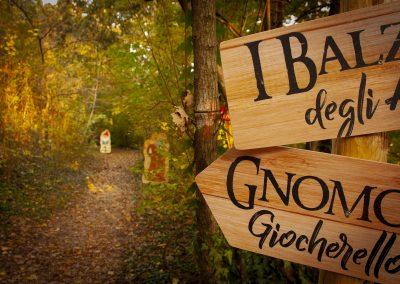 percorso nel bosco, crea parchi, percorso didattico, gnomi del bosco, giocabosco, gavardo, brescia