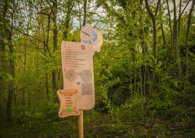 percorso nel bosco, crea parchi, percorso didattico, roccasparvera